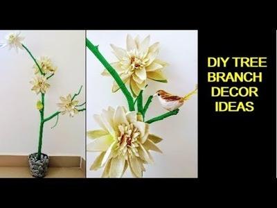 DIY Home Decor : Fancy Planter and Tree Branch Decor Ideas