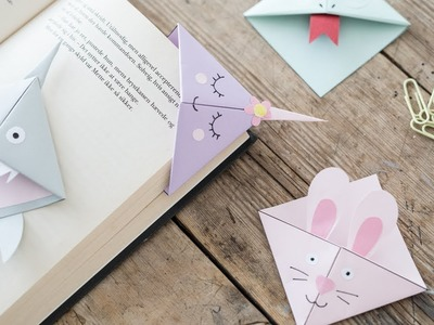 DIY : Make creative bookmarks by Søstrene Grene