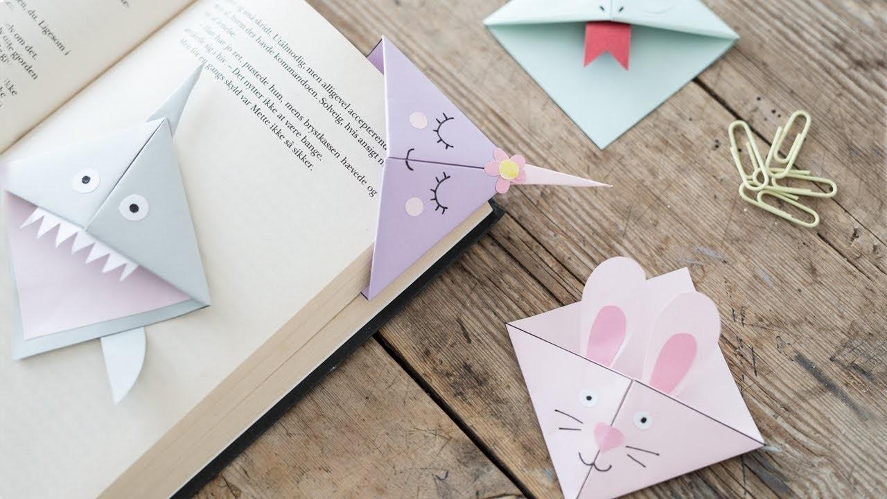 DIY : Make creative bookmarks by Søstrene Grene