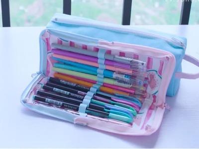 DIY Pencil Bag || DIY Pencil Case || Back To School