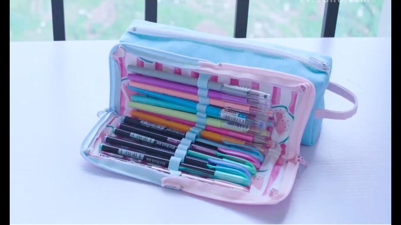 DIY Pencil Bag || DIY Pencil Case || Back To School