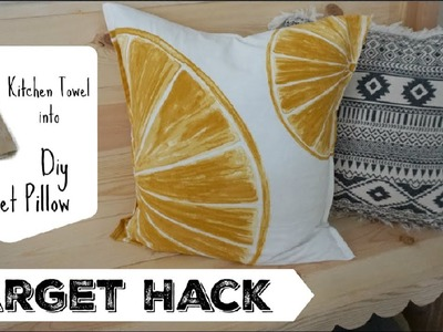 DIY Pocket Pillow Cover |  Easy Target Hack | Momma From Scratch