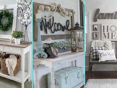 ❤DIY Rustic  Shabby chic style Summer Entryway decor Ideas❤   Home decor Ideas  Flamingo Mango