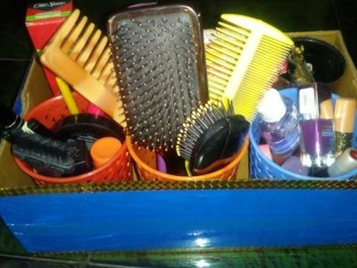 DIY storage box from shoe box| DIY Storage ideas|DIY basket