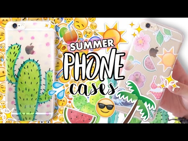 DIY Tumblr Phone Cases for Summer! ( INDONESIA ) Eng subbed