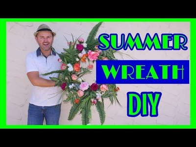 Easy Flower Arranging for Beginners (Pt2) . DIY Wreath and Tablescape 2018.Astra's Place