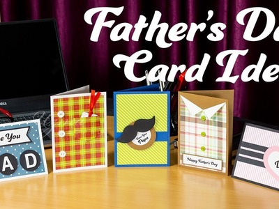 Father's Day Card Ideas | Easy & Cute DIY Greeting Cards to gift your Dad!