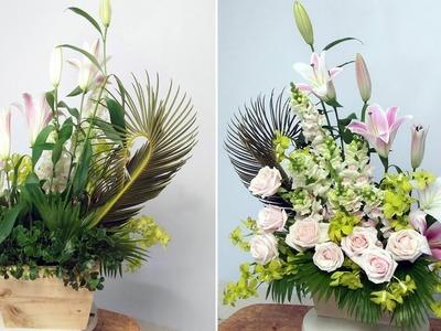 HOW TO Arrange Flowers DIY Rose flower,Snapdragon ? Home Decoration 57