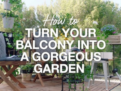 How To: D.I.Y Balcony Makeover