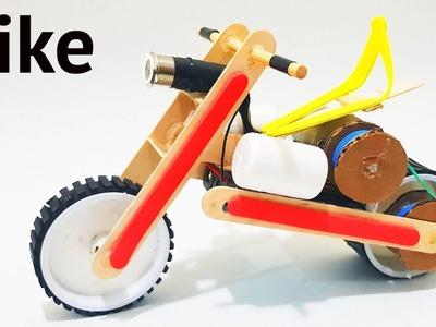 How to Make a Mini Electric Bike - Amazing DIY