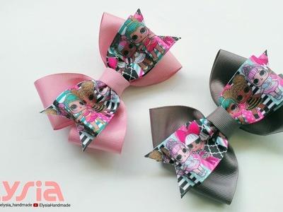 Laço LOL Simple ???? Ribbon Bow ???? DIY by Elysia Handmade