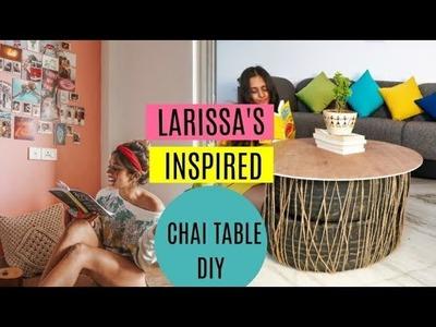 Larissa's inspired chai table DIY 2018 | PRASHASTI JAIN