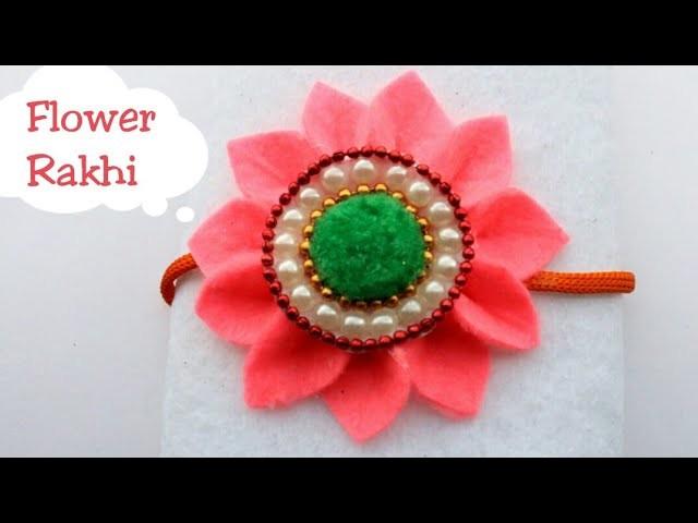 New Rakhi designs how to make sunflower rakhi at home  Rakhi for kids  #Rakshabandhan  #rakhi