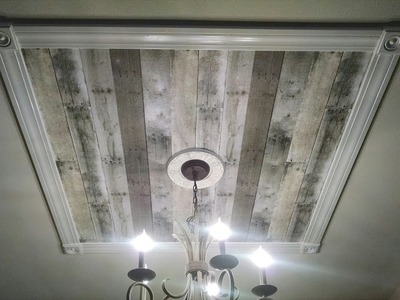 'On The Fly. DIY' Statement Ceiling Focal Point