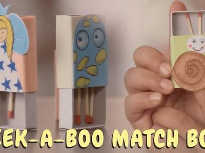 The Art Room - DIY Peek-A-Boo Match Box | Matchbox Crafts | Easy & Fun Crafts for Kids