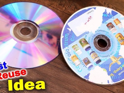 Best Out of Waste Craft ???? Old CD || DIY Wall Hanging Organizer Making || DIY Room Decor Craft Idea
