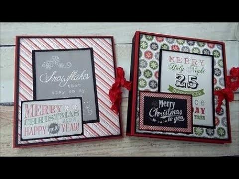 Christmas Craft Fair Folio with Tutorial