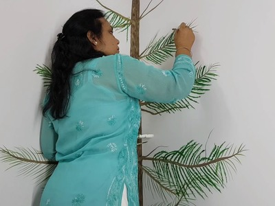 Christmas Tree Wall Painting - Part 1