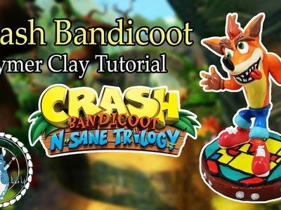 CRASH BANDICOOT *** In Polymer Clay