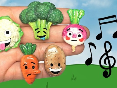 DANCING EMOJI VEGETABLES! Stop Motion Polymer Clay Tutorial