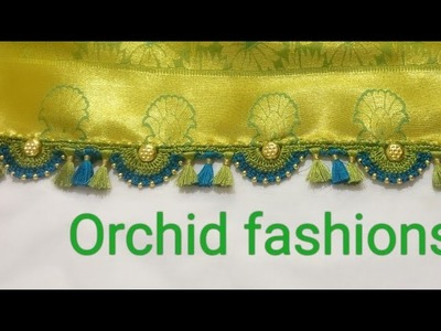 Double color arch with beads - 35(kannada version)