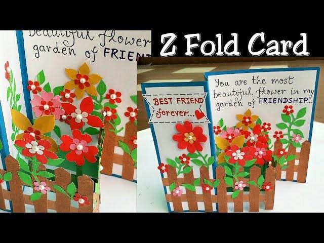 Friendship Day Card Handmade Card For Friend Friend Card Friendship