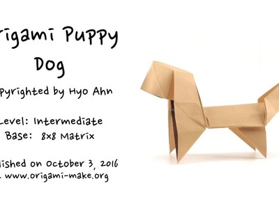 Introducing an Origami Puppy Dog