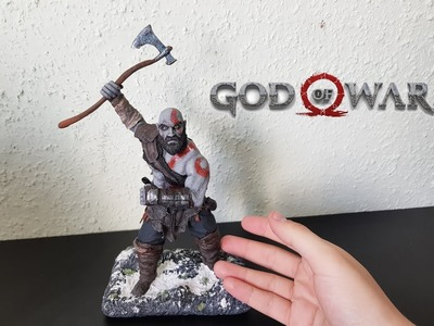 Kratos from God of War (Remastered Figure) - Polymer Clay Tutorial