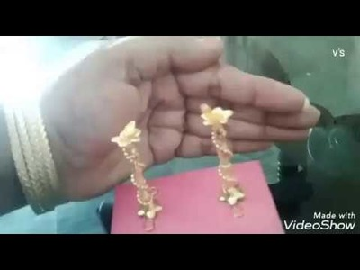 Mini Deepam Stand With Beads