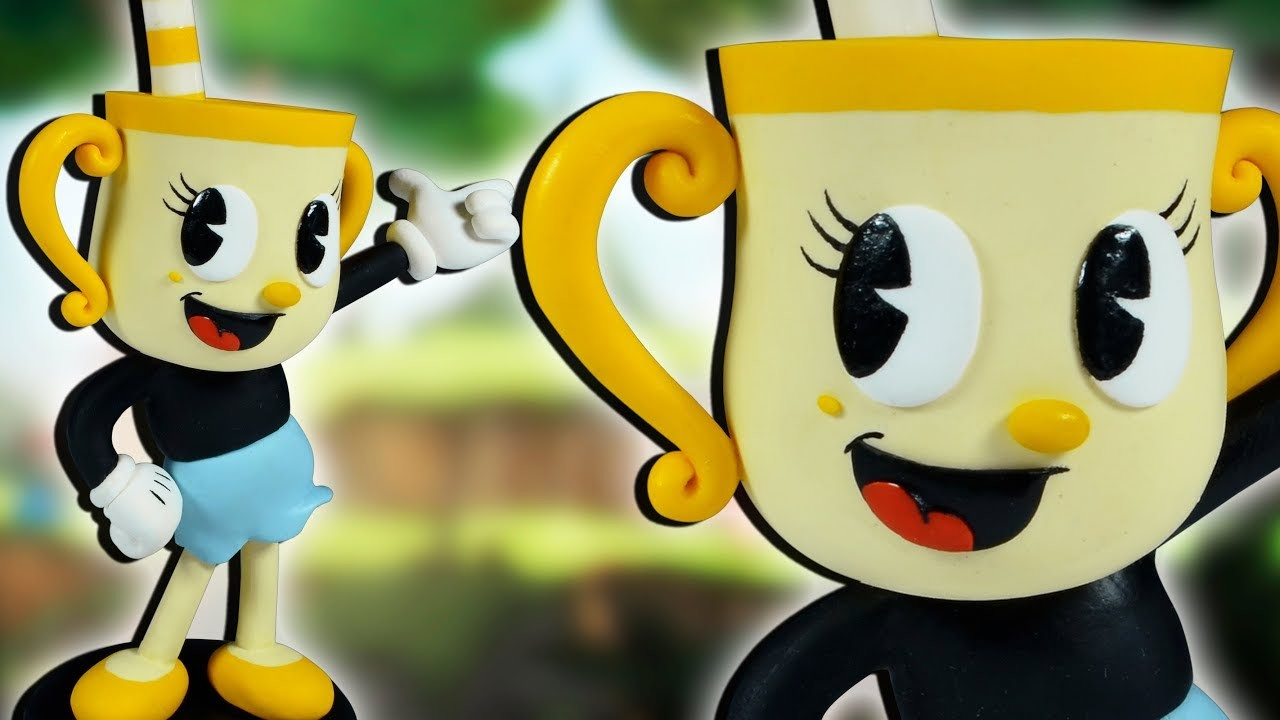 MS. CHALICE ★ CUPHEAD: The Delicious Last Course (DLC)➤ Polymer clay Tutorial