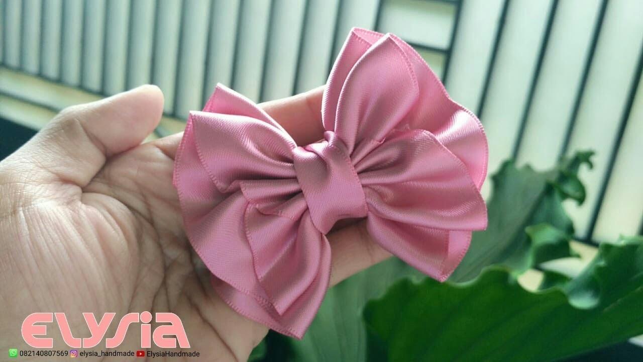 New laço Helena Satin Ribbon 38mm ???? Ribbon Bow ???? DIY by Elysia Handmade