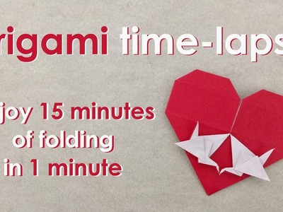 Origami Time-Lapse: Love Birds (Francis Ow)