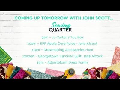 Sewing Quarter - 2nd June 2018