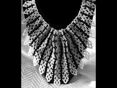 Tutorial on how to make this elegant jewelry