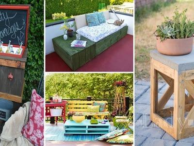 100 Cheap and Easy DIY Backyard Ideas | DIY Garden