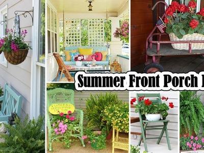 100 DIY Summer Front Porch Ideas