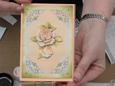 #252  Expanding On Stunning Decoupage with Inks and Markers by Scrapbooking Made Simple