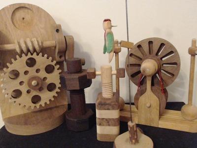 ASMR ~ Handmade Wooden Toy Show & Tell