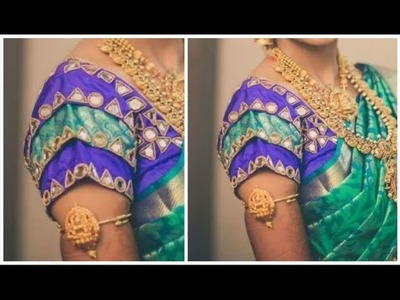 Bridal Sleeves With 3 Layers | Very Simple & Easy To Make (DIY) TAMIL