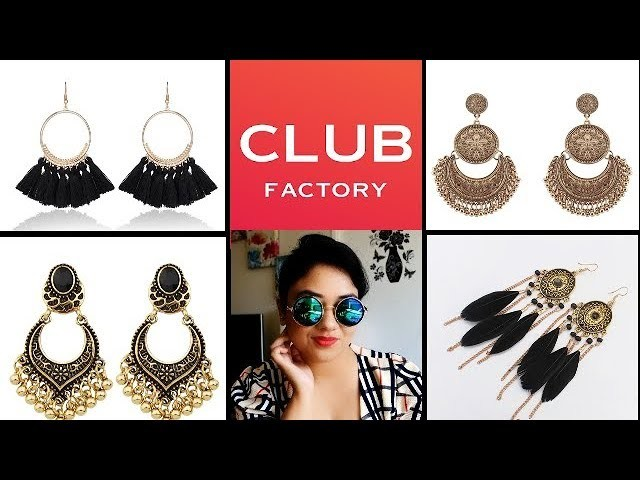 CLUB FACTORY JEWELLERY HAUL || Affordable Jewellery Shopping || Shainee DIY's & Lifestyle