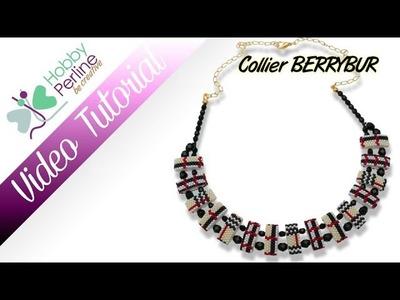 Collier BERRYBUR | TUTORIAL - HobbyPerline.com