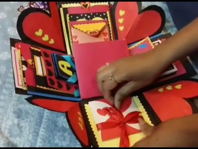 DIY- Birthday Explosion Box | Cake Explosion Box | Explosion Box Ideas for loved ones