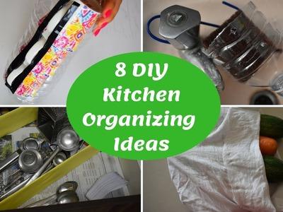 DIY Kitchen Organizing ideas Tamil|Waste பொருட்கள் வைத்து ஆர்கனைஸ் செய்யலாம்