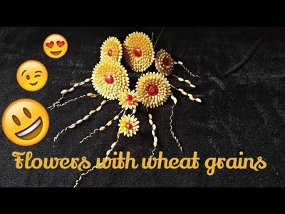 Flowers with Wheat Grains| Tutorial-2