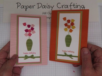 Handmade card tutorial with Varied Vases from Stampin' Up!