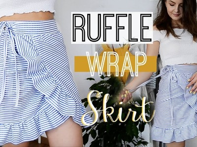 How to make a Ruffled Wrap Skirt | Owlipop DIY