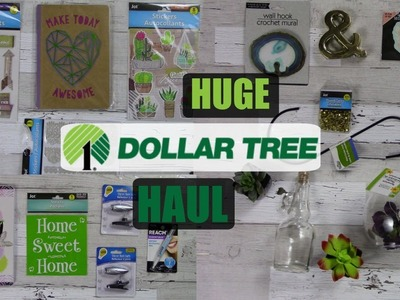 Huge Dollar Tree Haul, NEW FINDS AT THE DT * DIY'S  SO EXCITING! Summer 2018