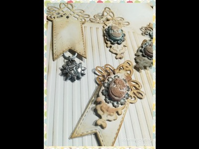 Simple gorgeous Vintage Shabby chic paper clips Tutorial