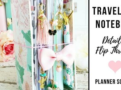 Traveler's Notebook Planner Setup | Detailed Flip Through | DIY Tips and Ideas for B6 TPS TN