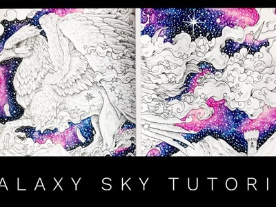 Tutorial: How to Colour a Galaxy Sky with Neocolor II